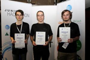 Junior Hackahon 2016 1st place winners