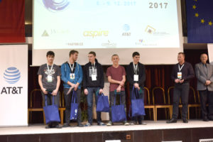 Junior Hackathon 2017 1st place winners