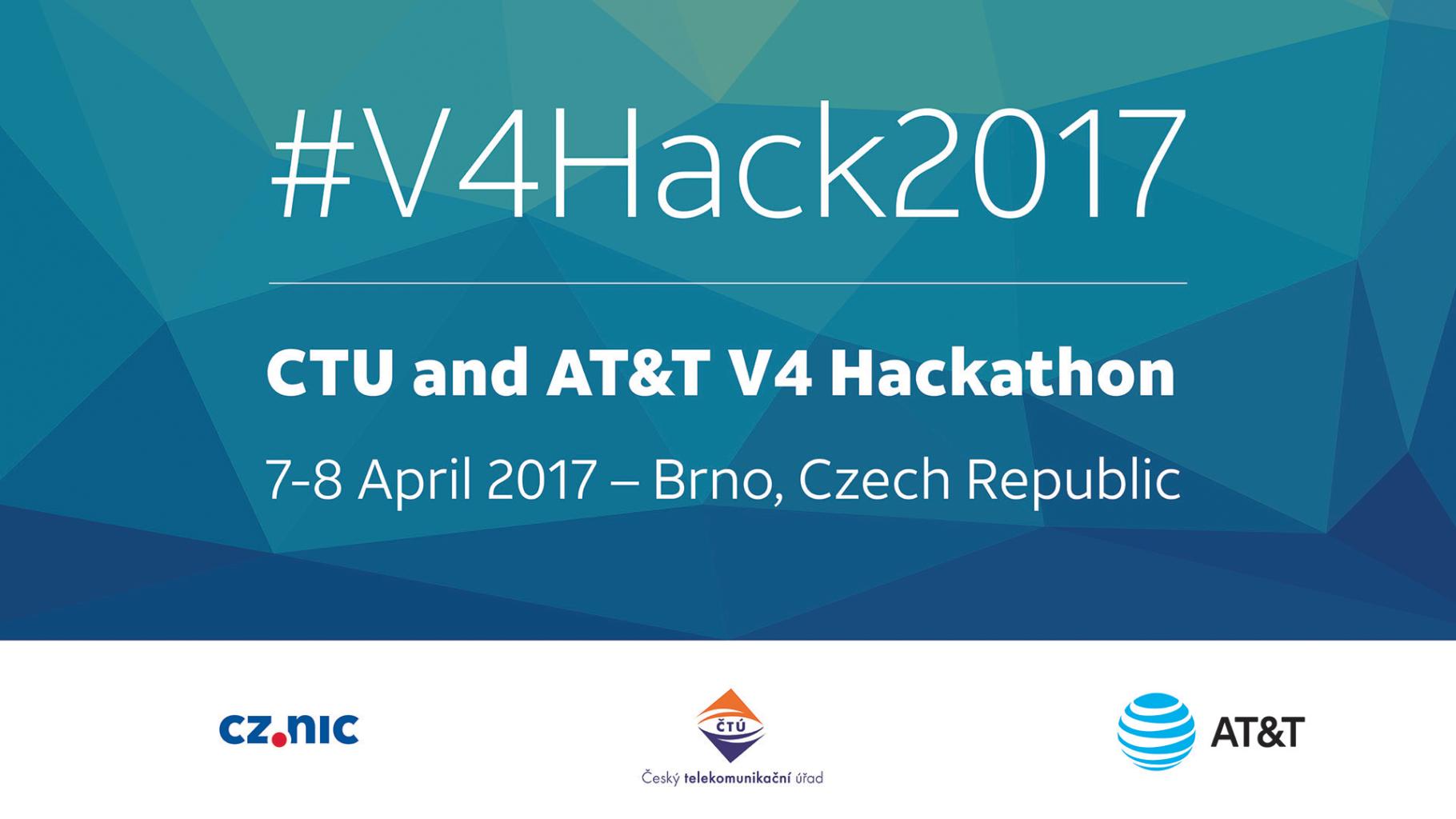 V4 Hackathon 2017 Brno, Holiday Inn.
