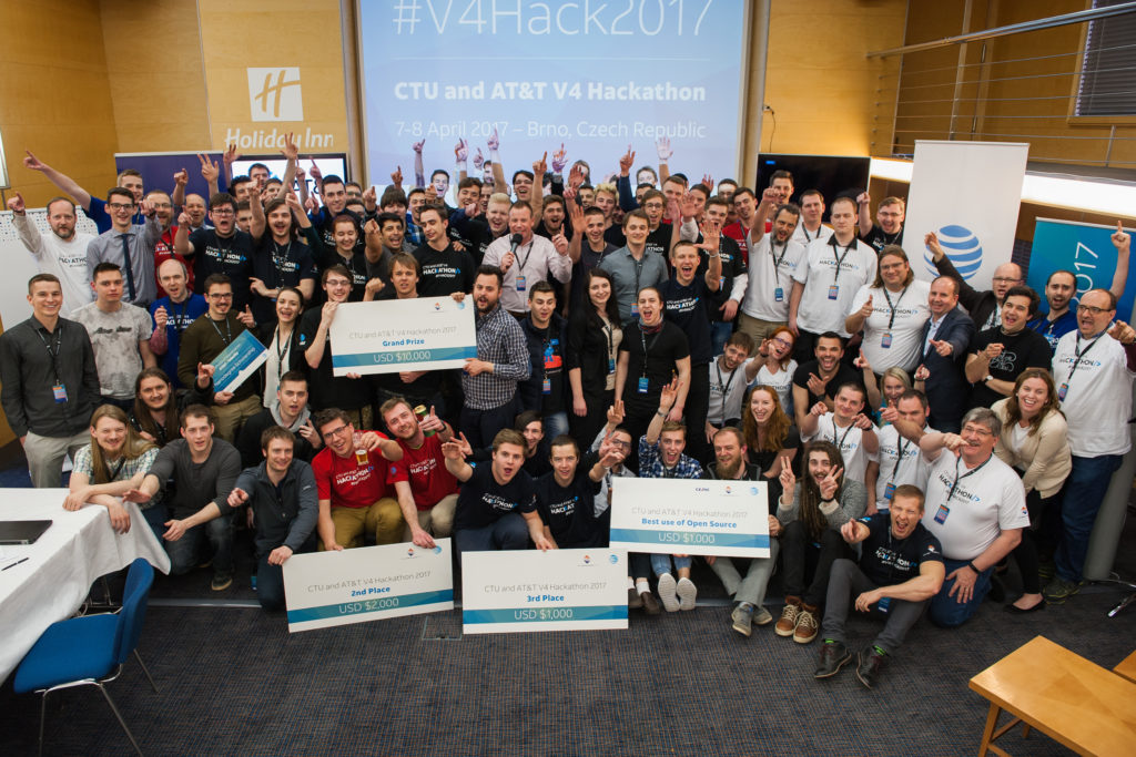 V4 Hackathon 2017 Brno, Holiday Inn