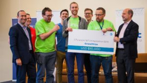 V4 Hackathon Prague 2016 1st place winners