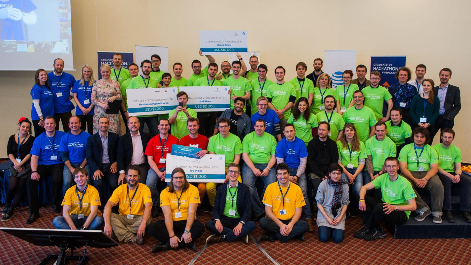 V4 Hackathon 2016, Prague