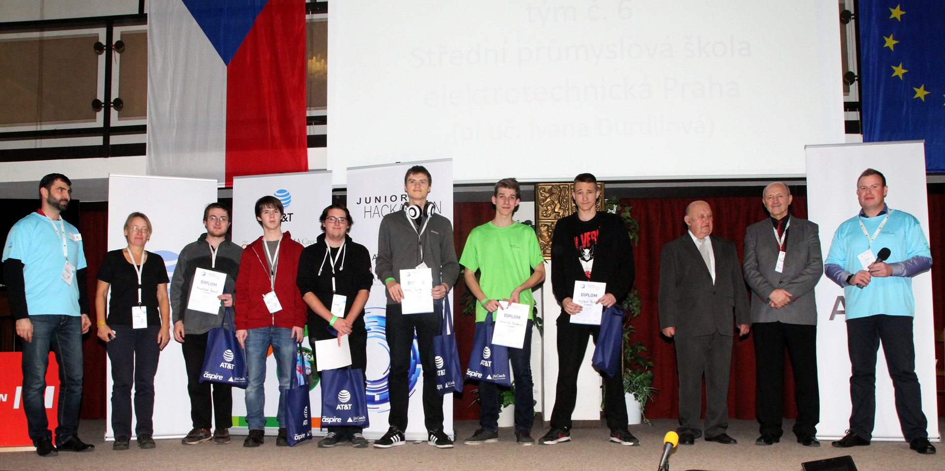 Junior Hackathon 2016 Brno 2nd place winners