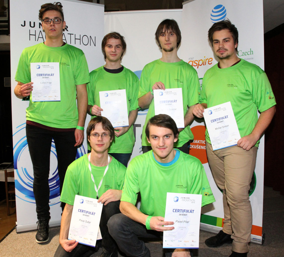 Junior Hackathon 2016 Brno 3rd place winners