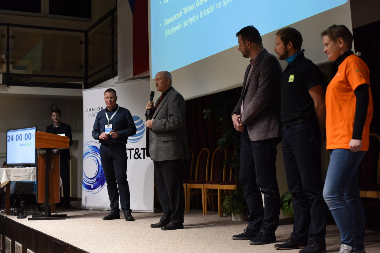 Junior Hackathon 2017 Brno. Vladimír Šimíček Director of Secondary School of Informatics, Post and Finance Brno.