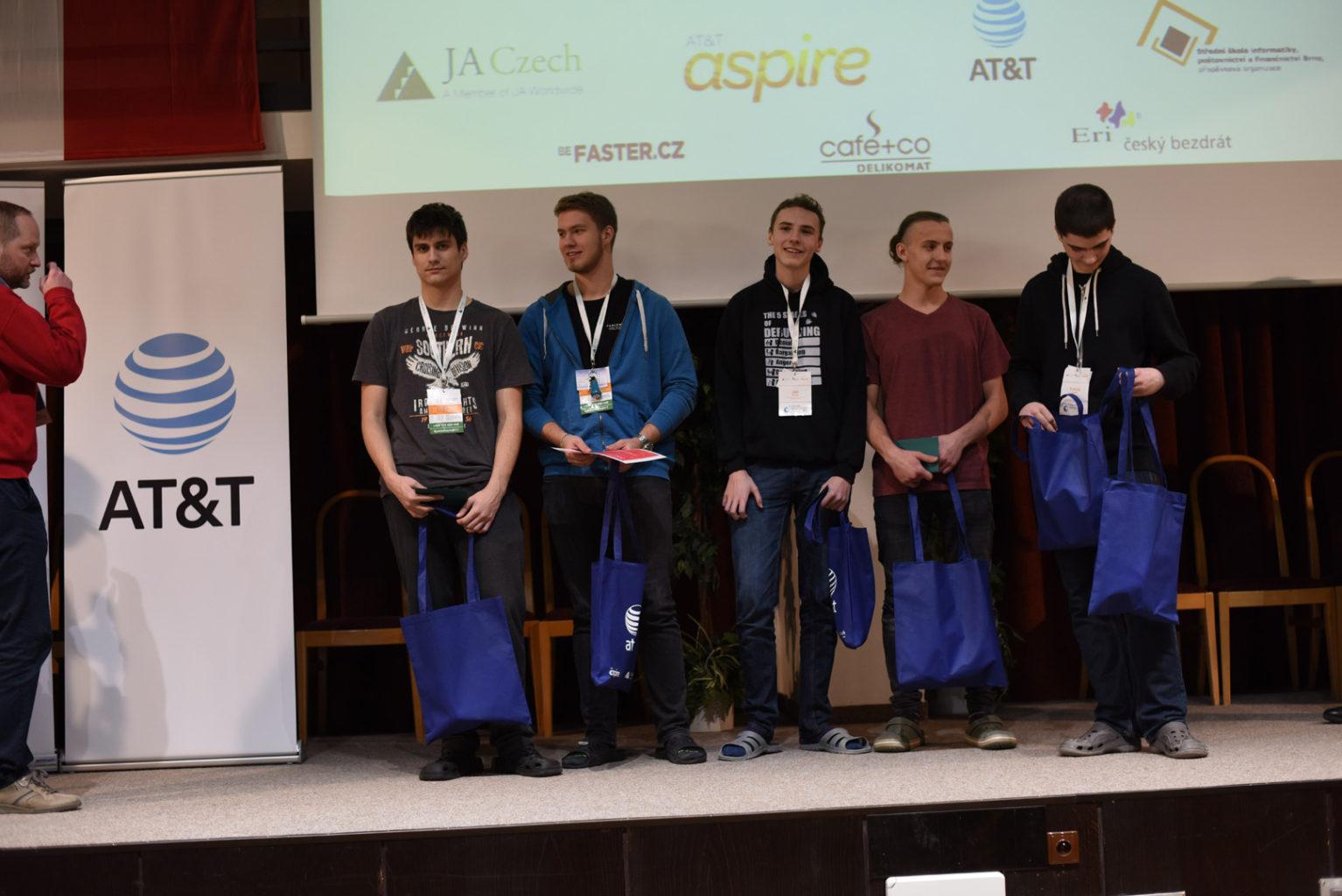 Junior Hackathon 2017 Brno winners 1st place