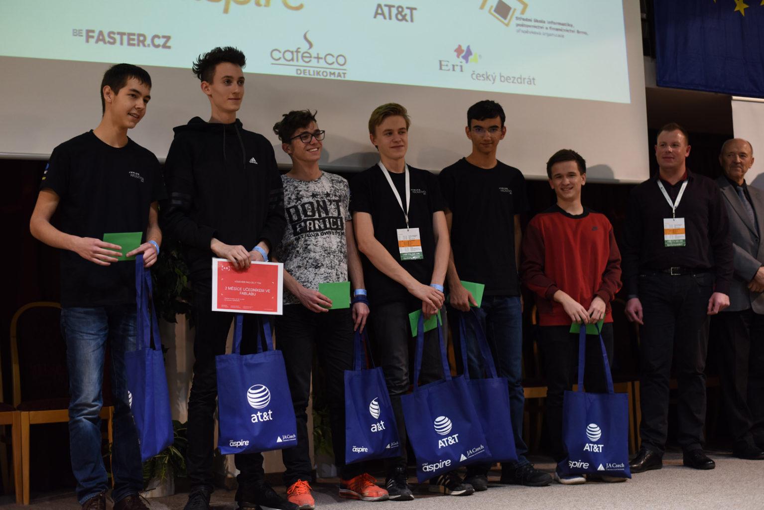 Junior Hackathon 2017 Brno winners 2nd place
