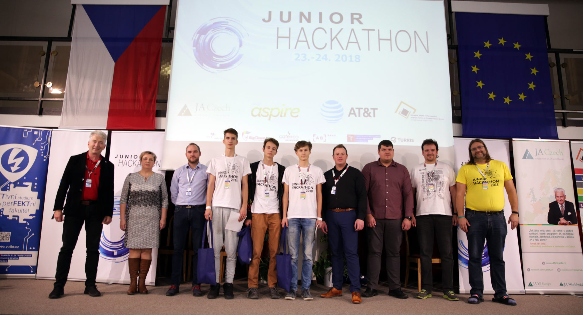 Junior Hackathon Brno 2018, Secondary School of Informatics, Postal Services and Finance, Brno