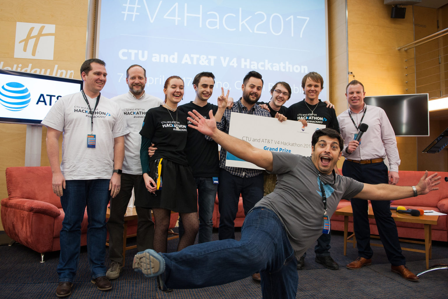 V4 Hackathon 2017 Brno Holiday Inn Winners Grand Price