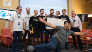 V4 Hackathon 2017 Brno Holiday Inn winners