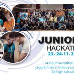 Junior Hackathon Brno 2018 - pozvánka